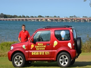Hans Electrical Service on Bribie Island
