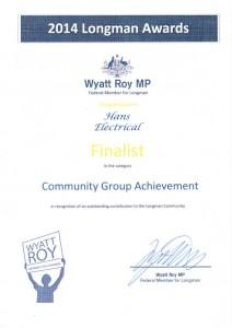 140516 - Longman Awards Finalist in category COMMUNITY GROUP (2)