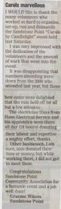 150109 - Newspaper Article - Bribie Weekly